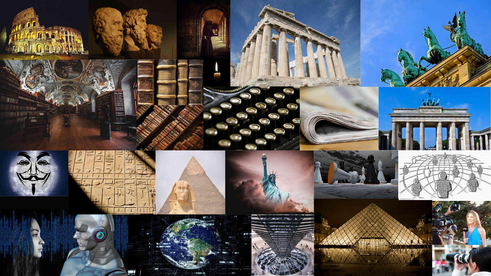 Collage Vassilios Tzounakis ©